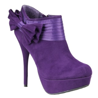 Riverberry Women's 'Covina' Platform Stiletto Booties