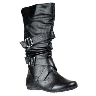 Riverberry Women's 'Herbie' Strap-detailed Boots
