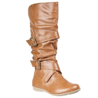 Riverberry Women's 'Herbie' Strap-detailed Fashion Boots
