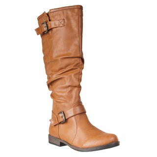Riverberry Women's 'Montage' Knee-high Slouchy Boot