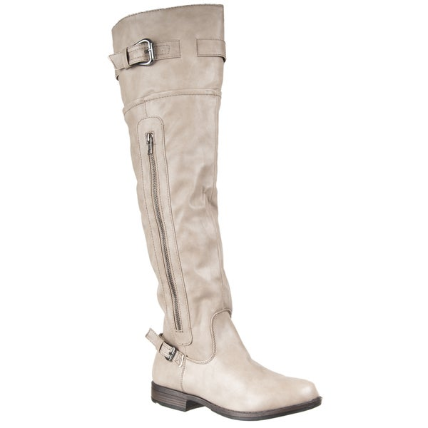 Riverberry Women's 'Montage' Over-the-knee Boots