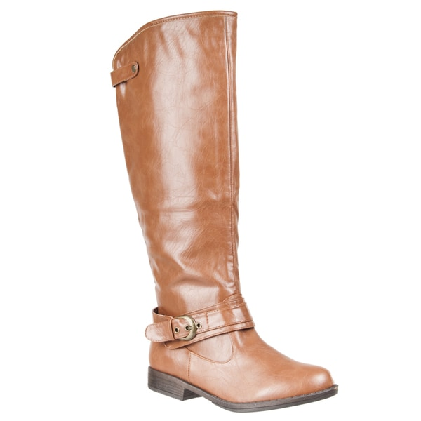 Riverberry Womens Mid-Calf 'Montage' Riding Boots