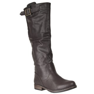 Riverberry Women's 'Montage' Back-zip Tall Boot