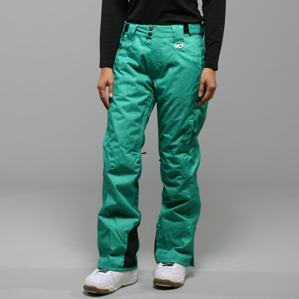 Marker Women's Inspiration Insulated Clover Swirl Ski Pants