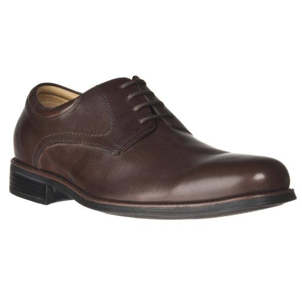 Johnston and Murphy Men's 'Samford' Plain-toe Leather Oxford
