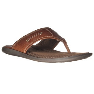 Johnston and Murphy Men's Leather Flip-flop Sandal