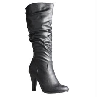 Refresh by Beston Women's 'Jazz' Knee High Boots