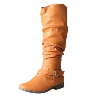 Refresh by Beston Women's 'Geneva' Knee High Boots