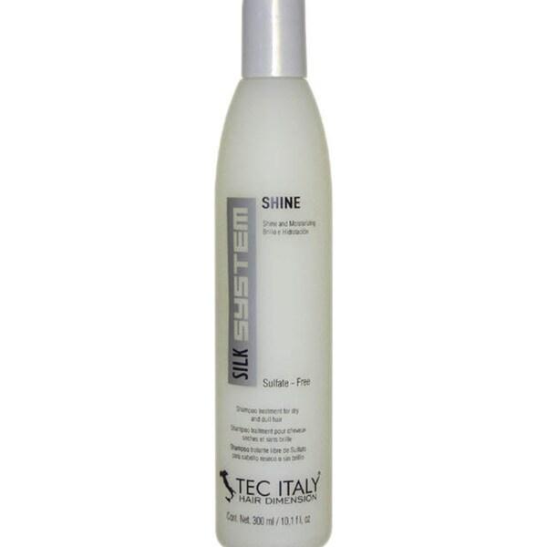 Tec Italy Silk System Shine Sulfate-Free 10.1-ounce Shampoo