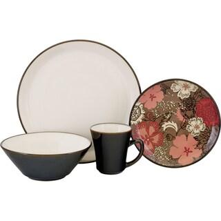 Sango 'Primrose' Stoneware 16-piece Dinnerware Set