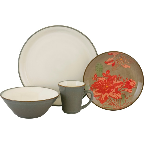 Sango Signature Collection 'Trumpet' 16-piece Dinnerware Set