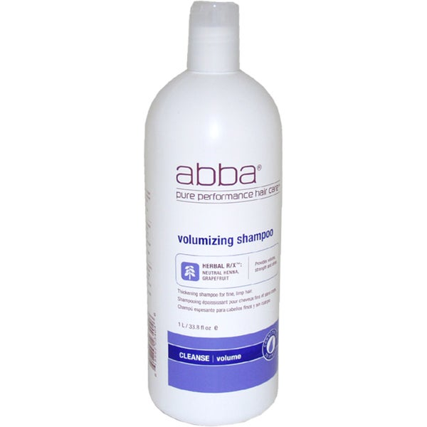 ABBA Pure Volumizing 33.8-ounce Shampoo