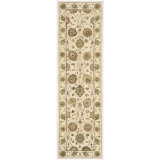Nourison 3000 Hand-tufted Ivory Rug (2'3 x 8') Runner