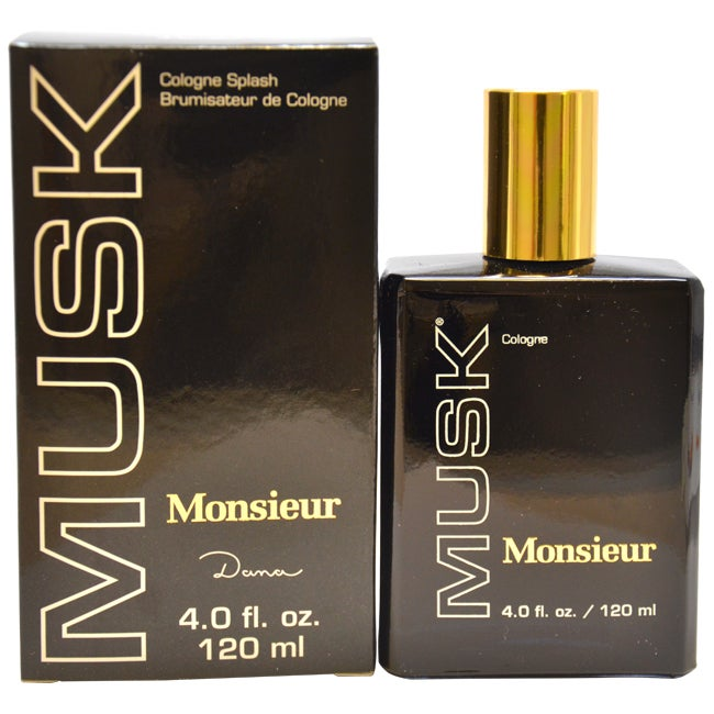 Dana 'Monsieur Musk' Men's Four-ounce Romantic Cologne Splash