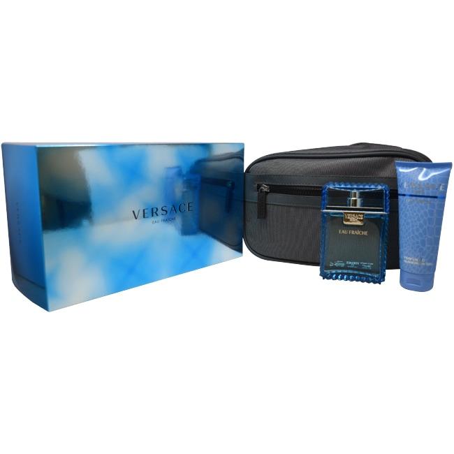 Gianni Versace 'Man Eau Fraiche' Men's Three-piece Fragrance Gift Set