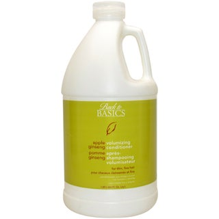 Back to Basics Apple Ginseng Volumizing 64-ounce Conditioner