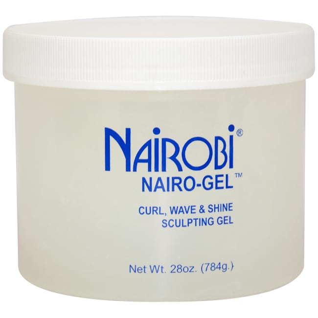 Nairobi Nairo-Gel Curl Wave & Shine 28-ounce Sculpting Gel