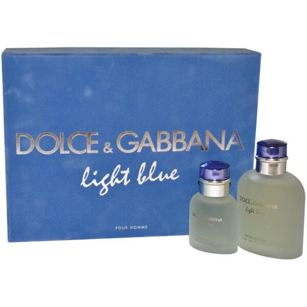 Dolce & Gabbana Light Blue Men's 2-piece Gift Set