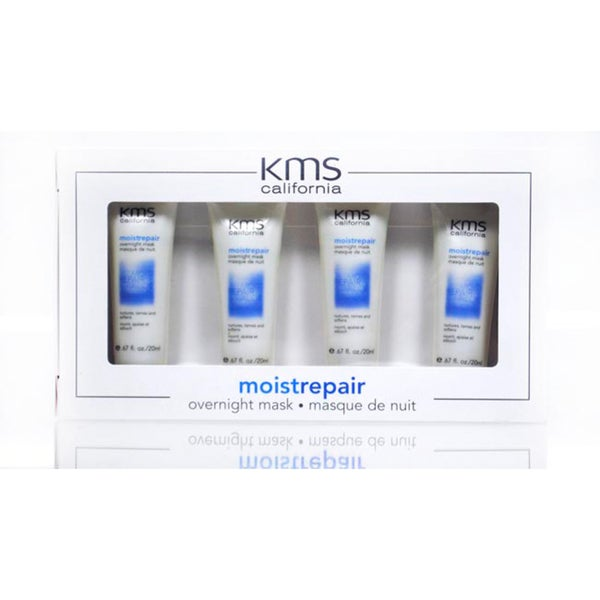 KMS California Moist Repair Overnight Mask (Pack of 4)