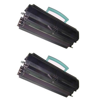 Lexmark E350 E250 E250A11A Compatible Black Toner Cartridge (Pack of 2)
