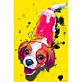 Maxwell Dickson 'Zoe' Pop Art Dog Canvas Print