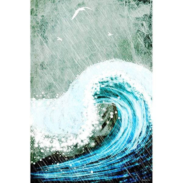 Maxwell Dickson 'The Great Wave' Canvas Wall Art