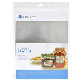 Silhouette Printable Silver Foil