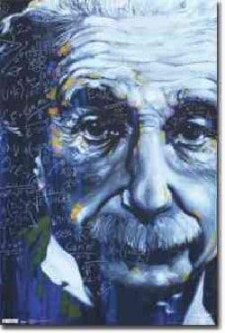 Einstein: Artistic Formulas (Poster)