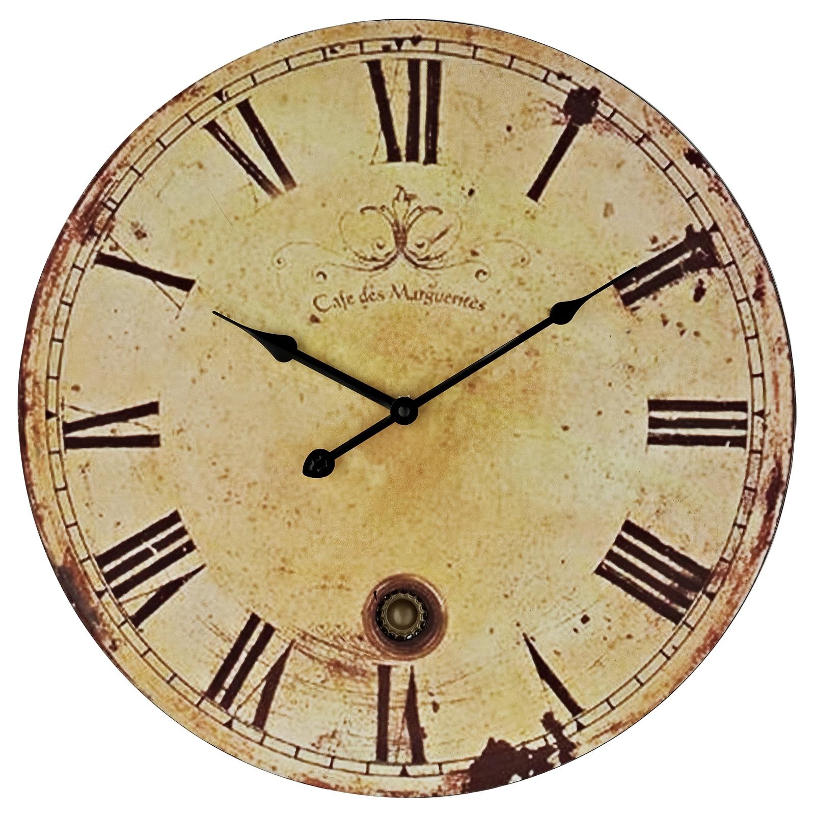 Large Vintage Wall Clock Car Interior Design