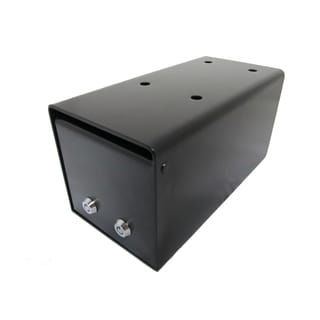 Small Under Counter Drop Box Depository Safe with 2 Key Lock