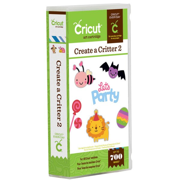 Cricut Everyday 'Create a Critter 2' Cartridge