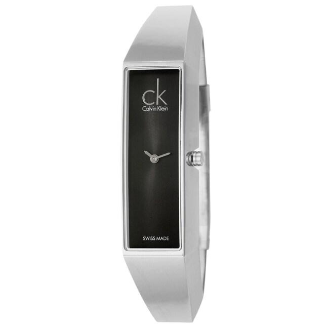 Calvin Klein Women's 'Section' Stainless Steel Watch