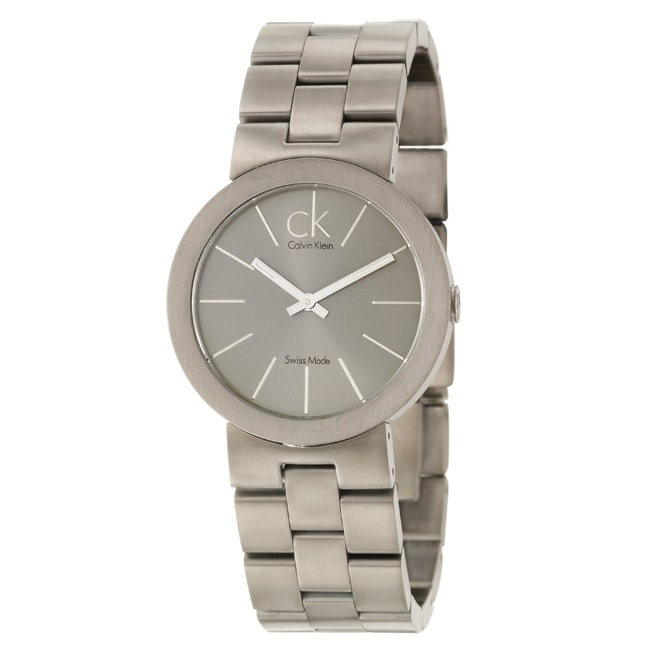 Calvin Klein Men's 'Icon' Stainless Steel Titanium PVD Plated Watch