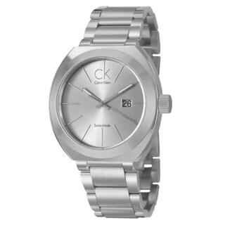 Calvin Klein Men's 'Nation' Stainless Steel Watch