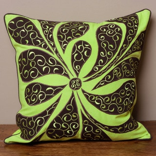 Abstract Flower Petal Cushion Cover (India)