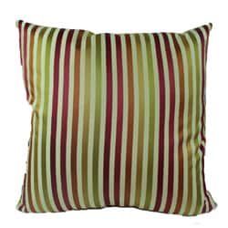 Fast Lane Stripe Spring Decorative Pillow