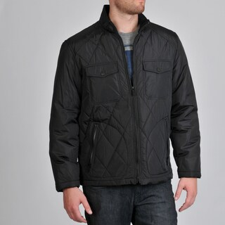 Buffalo by David Bitton Men's Nylon Quilted Open Bottom Jacket