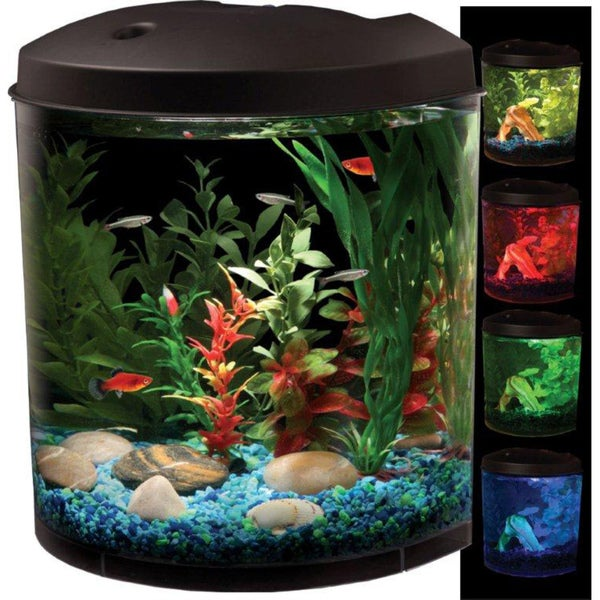 kollercraft aquaview 180 view led light 3 5 gallon. Black Bedroom Furniture Sets. Home Design Ideas