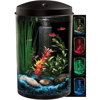 KollerCraft AquaView LED Light 3-Gallon Aquarium Kit
