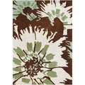 Alliyah Handmade Tufted Antique White New Zealand Blend Wool Rug (8' x 10')