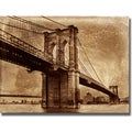 Dylan Mathews 'Bridge I' Canvas Art