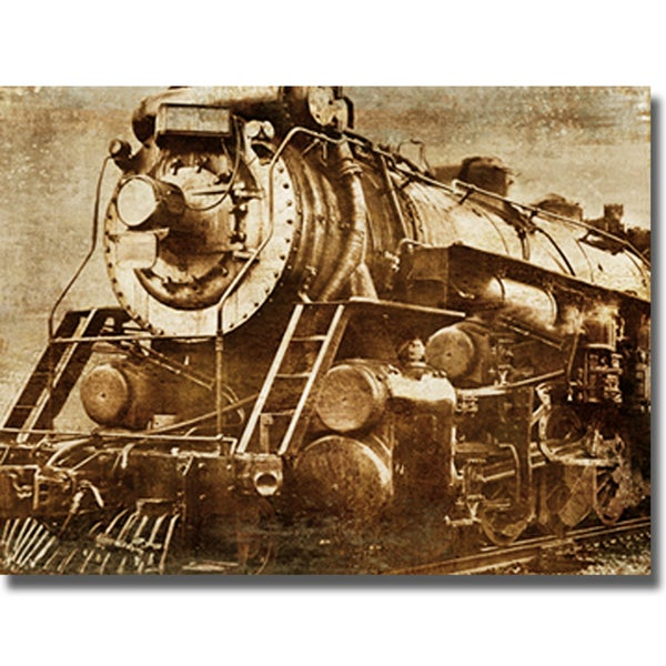 Dylan Mathews 'Locomotive' Canvas Art