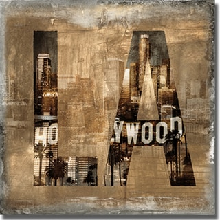 Luke Wilson 'LA Revealed' Canvas Art
