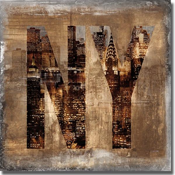 Luke Wilson 'NY Revealed' Canvas Art