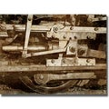 Dylan Mathews 'Locomotive Detail' Canvas Art