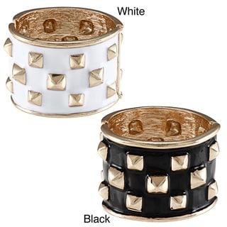 Kenneth Jay Lane Goldtone Spike Bangle Bracelet