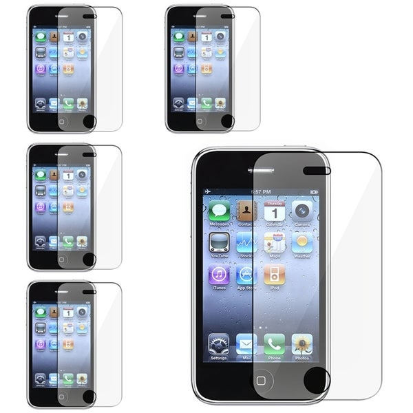 INSTEN Clear Screen Protector for Apple iPhone 3G/ 3GS (Pack of 5)