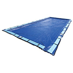Dirt Defender Gold 15-Year 12-ft x 24-ft Rectangular In Ground Pool Winter Cover