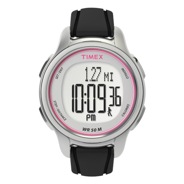 Timex Women's T5K636 All Day Tracker Black Watch