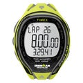 Timex Men's T5K589 Ironman Sleek 250-Lap TapScreen Neon Yellow/Black Watch